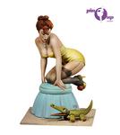 Andrea Miniatures: Pinup Series - Mind the Crocodile!