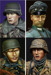 Alpine Miniatures - German Heads Set #4