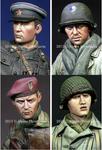 Alpine Miniatures - WW2 Allied Heads Set #2