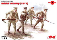 ICM Models British Infantry 1914