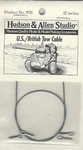 Hudson & Allen Studio US/British Tow Cable