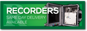 Recorders - Same Day Delivery Available