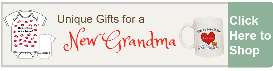 New Grandma Gifts from The BananaNana Shoppe