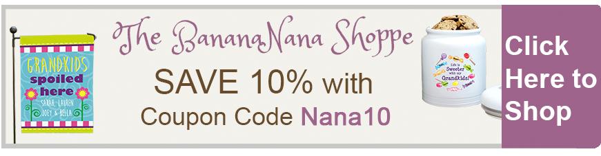 Save 10% at The BananaNana Shoppe