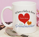 Personalized New Grandma Mug