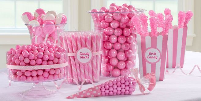 ... Pink Candy Buffet ...