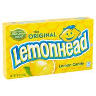 Original Lemon Lemonhead Head Candy 1 box 24 units