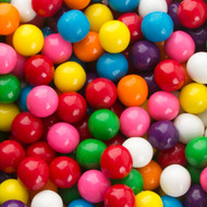 Gumballs Assorted Small (1/2 inch) 2.5 Pounds