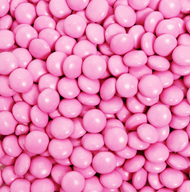 Chocolate Gems  Pink 2.5 Pounds