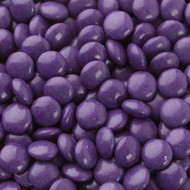Chocolate Gems Purple 2.5 Pounds