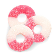 Pink Gummi Rings 2.25 pounds Pounds Bag