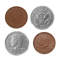 Chocolate Coins Silver 1 Pound