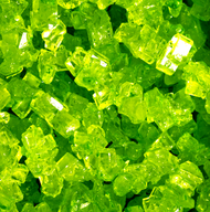 Rock Candy on String Light Green 5 pounds