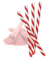Circus Candy Sticks Red/White 10 pieces