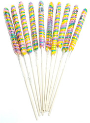 "18"" Twist Unicorn Lollipop Rainbow 12 Units"