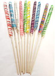 Twist Unicorn Lollipop Big 18 Inch assorted 12 units