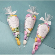 Favor Bags Cone Shaped 100 bags
