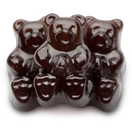 Gummy Bears Black Cherry 2.5 Pounds