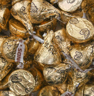 Hershey's Kisses with Almonds 2 pounds Gold