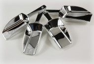 Candy Buffet SIlver Scoop Plastic 2.5oz 4 units