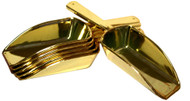 Candy Buffet Plastic Scoop (Gold) 2.5oz 4 Units