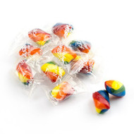 Cylinder Striped Hard Candy Rainbow 2 lbs