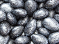 Jordan Almonds Black/Silver 5 lbs