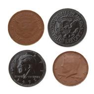 Chocolate Coins Black 1 Pound