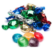 Wrapped Hard Candy Assorted Flavors 2.5 Lbs