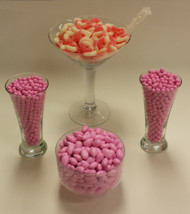 Pink Candy Buffet Candy Kit Will serve 20 to 30 People Candy Bar with Gummy Rings