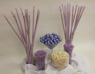 Lavender and White Candy Bar Candy Kit Will Serve 30 to 40 Guests Candy Buffet