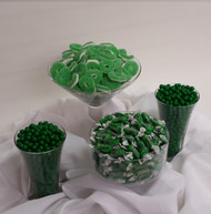 Green Candy Buffet Kit Serves 25 to 35 Guests Candy Arrangement