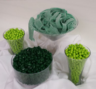 Green Candy Bar Kit Serves 25 to 35 Guests Candy Buffet