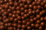Sixlets Brown 12 Pound Case Candy Coated Chocolate