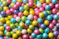 Sixlets Pearl Assorted 12 Pound Case Candy Coated Chocolate