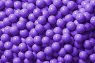 Sixlets Candy Coated Chocolate Purple 2 Pounds
