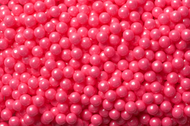 Pearl Beads Shimmer Bright Pink 12 Pounds