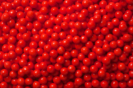 Pearl Beads Red 2 Pounds