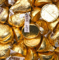 Hershey's Kisses 2 pounds Bulk Gold wrapping Milk Chocolate