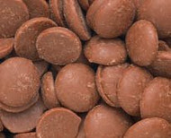 Merckens Melting Chocolate Wafers Milk Chocolate 2 Pounds