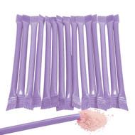 Sugar Candy Straws Purple 240 Count Grape Flavor