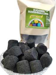 Marshmallows Black (Sugar Coated) 2 Pounds