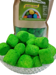 Marshmallows Green (Sugar Coated) 2 Pounds