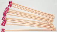 """Orange Giant Pixy Stix 16"""" Long 12 units"""
