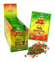 Sour Power Sour Popping Candy Green Apple & Strawberry 18 Pouches