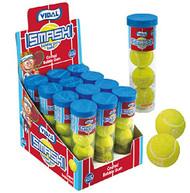 Gumballs Sour Tennis 12 Containers (4 Gumballs Per Container)