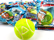 Tennis Bubble Gumballs Individually Wrapped 60 count