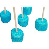Marshmallow Cake Pops- Blue 100 Count