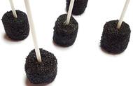 Marshmallow Cake Pops- Black 100 Count