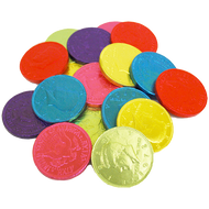 Chocolate Coins Rainbow 1 Pound